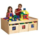 Click here for more Birch See & Store Activity Table by ECR4Kids by Worthington