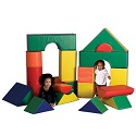 Click here for more SoftZone Jumbo Block Sets by ECR4Kids by Worthington