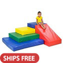 Click here for more SoftZone Climb and Slide by ECR4Kids by Worthington
