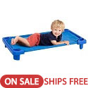 Click here for more Streamline Stackable Toddler Cot by ECR4Kids by Worthington