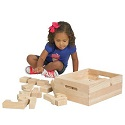 Click here for more Solid Hardwood Building Block Sets by ECR4Kids by Worthington