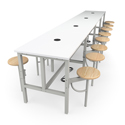 Click here for more Endure Tables with Seats by OFM by Worthington