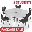 Click here for more Classroom Desk & Chair Packages by Worthington