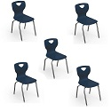 Click here for more Essential School Chair (Set of 5) by Balt by Worthington