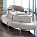 Eve Curve Reception Seating by High Point