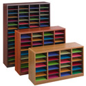 E-Z Stor Wood Literature Organizer by SAFCO