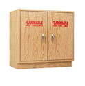 Click here for more Flammable Liquid Storage Cabinet by Diversified Woodcrafts by Worthington