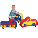 Click here for more Foam Rollaround Cars by the Children's Factory by Worthington