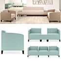 Click here for more Fremont Series Reception Seating by Lesro by Worthington