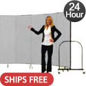 Click here for more 6' H Freestanding Portable Partition by Screenflex- 24 Hour Quick Ship by Worthington