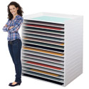 Click here for more Giant Stacking Trays by SAFCO by Worthington