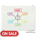 Click here for more Visionary Magnetic Glass Whiteboard by Best-Rite by Worthington