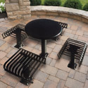 Click here for more Hamilton Outdoor Tables with Seats by UltraPlay by Worthington