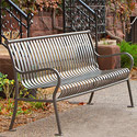 Click here for more Hamilton Vertical Slat Outdoor Benches by UltraPlay by Worthington