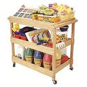 Click here for more Hardwood Utility Cart by ECR4Kids by Worthington