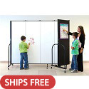 Click here for more Wet / Dry Erase Room Divider by Screenflex by Worthington