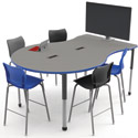 Click here for more Interchange Engage Multimedia Table by Smith System by Worthington