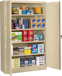 Jumbo Storage Cabinets by Tennsco