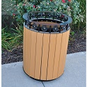 Click here for more Jamestown Receptacles by Jayhawk Plastics by Worthington