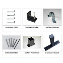 Mounting Accessories by Jayhawk Plastics