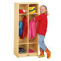 Birch Double Locker by Jonti-Craft
