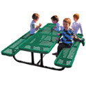 Mighty Tuff Rectangular Kid's Picnic Tables by UltraPlay