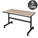 Kobe Flip Top Training Table by Regency