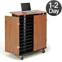 Click here for more Laptop Charging & Storage Cart by Oklahoma Sound by Worthington