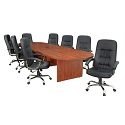 Click here for more Legacy Modular Racetrack Conference Tables by Regency by Worthington
