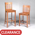 Click here for more Library Stool by Georgia Chair by Worthington