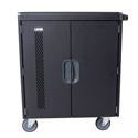 Click here for more 32 Chromebook, Laptop, Tablet Smart Charging Cart by Luxor by Worthington