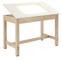Click here for more Adjustable Light Table by Shain by Worthington