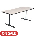Click here for more T-Leg Classroom Tables by Amtab by Worthington