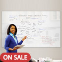 Click here for more Luxe Gorilla Glass Magnetic Whiteboard by Best-Rite by Worthington