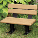 Click here for more Kid's Outdoor Bench by UltraPlay by Worthington