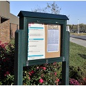 Click here for more Medium Hinged Outdoor Message Centers by Jayhawk Plastics by Worthington
