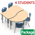 Click here for more Method Table & 2Thrive Chair 6-Piece Package by Scholar Craft by Worthington
