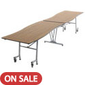 Click here for more Wave Top Mobile Cafeteria Tables by Amtab by Worthington