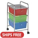 Click here for more Mobile Organizer Cart by ECR4Kids by Worthington