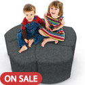 Click here for more Economy Shapes Modular Lounge Seating by Balt by Worthington