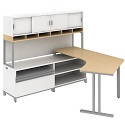 Click here for more Momentum Series L-Shaped Desks by Bush Business Furniture by Worthington