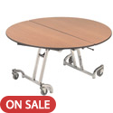 Click here for more Mobile Cafeteria T- Leg Tables by Amtab by Worthington