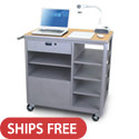 Click here for more Vizion Presenter Presentation Cart by Marvel by Worthington