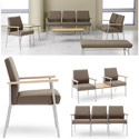 Mystic Reception Series Seating by Lesro