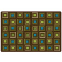 Click here for more Nature's Squares Seating Rug by Carpets for Kids by Worthington