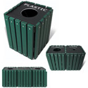 Outdoor Recycling & Trash Receptacles by UltraPlay