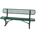 Click here for more Budget Saver Outdoor Bench w/ Back by Caprock Furniture by Worthington