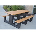 Click here for more Park Place Outdoor Picnic Tables by Jayhawk Plastics by Worthington