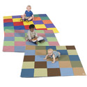 Click here for more Patchwork Mat by the Children's Factory by Worthington