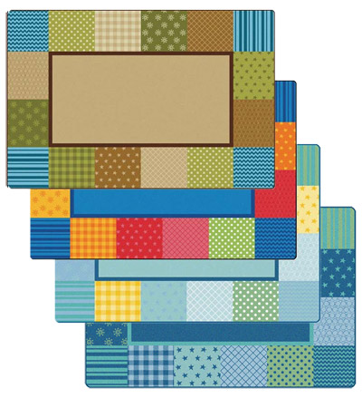 Click here for more Pattern Blocks KIDSoft Rugs by Carpets for Kids by Worthington